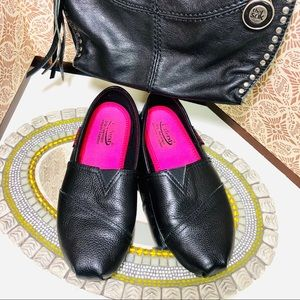 Laforst women pebbled leather loafers 8 like new